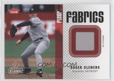 2006 Fleer Fabrics #FF-RC - Roger Clemens