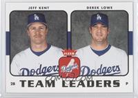 Jeff Kent, Derek Lowe