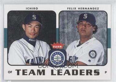 2006 Fleer Team Leaders #TL-24 - Ichiro Suzuki, Felix Hernandez