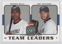 Vernon Wells, Roy Halladay