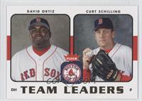 David Ortiz, Curt Schilling