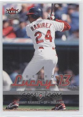 2006 Fleer Ultra - [Base] #206 - Manny Ramirez