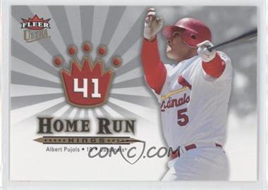 2006 Fleer Ultra - Home Run Kings #HRK1 - Albert Pujols