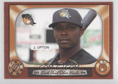 2006 Grandstand South Bend Silver Hawks - [Base] #16 - Justin Upton
