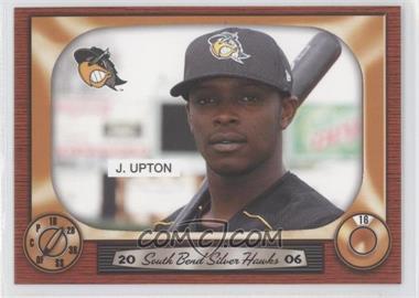 2006 Grandstand South Bend Silver Hawks #16 - Justin Upton