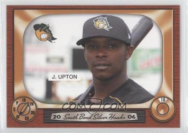 2006 Grandstand South Bend Silver Hawks #16 - Justin Upton
