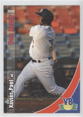 2006 Grandstand Vero Beach Dodgers - [Base] #N/A - Xavier Paul