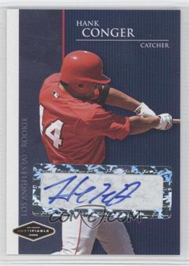 2006 Just Minors Justifiable Autographs [Autographed] #JF-6 - Hank Conger