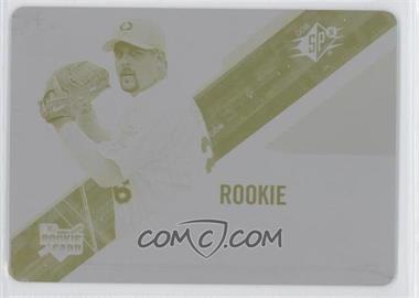 2006 SPx - [Base] - Printing Plate Yellow #152 - Boof Bonser /1