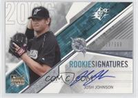 Rookie Signatures - Josh Johnson /999