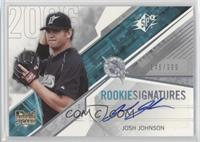 Rookie Signatures - Josh Johnson /999