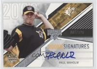 Rookie Signatures - Paul Maholm /999
