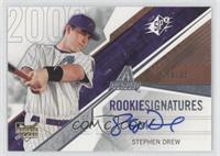 Rookie Signatures - Stephen Drew /350