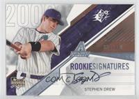 Rookie Signatures - Stephen Drew /350