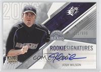 Josh Wilson /999