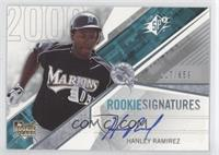 Rookie Signatures - Hanley Ramirez /659