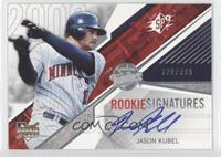 Rookie Signatures - Jason Kubel /999