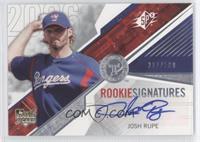 Rookie Signatures - Josh Rupe /500