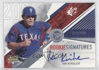 Rookie Signatures - Ian Kinsler /999