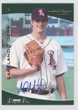 2006 TRISTAR Prospects Plus - [Base] - Gold #1 - Andrew Miller /50