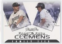 Koby Clemens, Roger Clemens