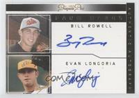 Evan Longoria, Billy Rowell /15