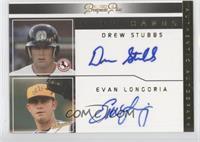 Drew Stubbs, Evan Longoria /15