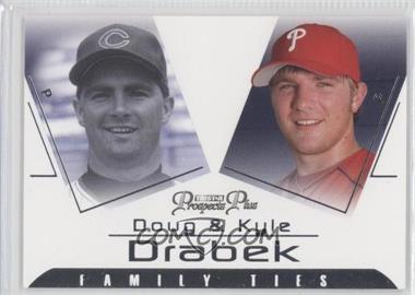 2006 TRISTAR Prospects Plus [???] #FT-4 - Kyle Drabek, Doug Drabek