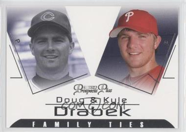 2006 TRISTAR Prospects Plus Family Ties #FT-4 - Kyle Drabek, Doug Drabek