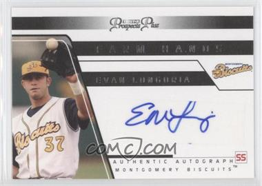 2006 TRISTAR Prospects Plus Farm Hands Authentic Autograph [Autographed] #FH 29 - Evan Longoria