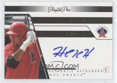 2006 TRISTAR Prospects Plus Farm Hands Authentic Autograph Gold [Autographed] #FH 16 - Hank Conger /25
