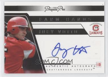 2006 TRISTAR Prospects Plus Farm Hands Autographs #FH 48 - Joey Votto
