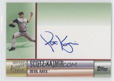 2006 Topps - Certified Autographs - Green [Autographed] #TA-SK - Scott Kazmir