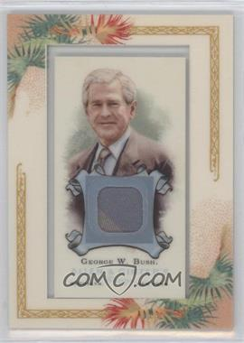 2006 Topps Allen & Ginter's Framed Mini Relics #AGR-GWB - George W. Bush
