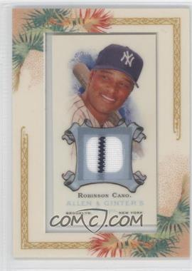 2006 Topps Allen & Ginter's Framed Mini Relics #AGR-RC - Robinson Cano