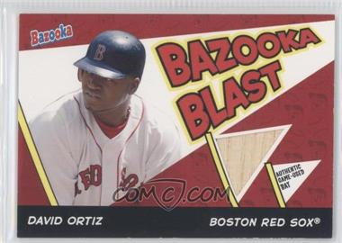 2006 Topps Bazooka - Blast Bats #BBL-DO - David Ortiz