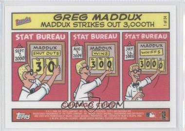 2006 Topps Bazooka - Comics #1 - Greg Maddux