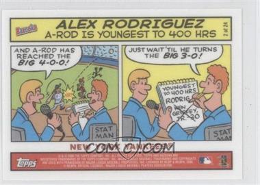 2006 Topps Bazooka - Comics #2 - Alex Rodriguez