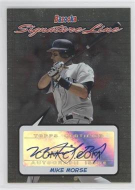2006 Topps Bazooka - Signature Line #BSL-MM - Mike Morse