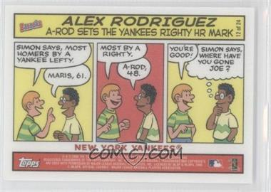 2006 Topps Bazooka [???] #12 - Alex Rodriguez