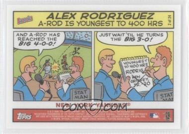 2006 Topps Bazooka [???] #2 - Alex Rodriguez