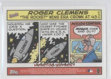2006 Topps Bazooka [???] #22 - Roger Clemens