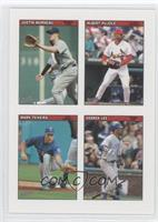 Albert Pujols, Derrek Lee, Justin Morneau, Mark Teixeira