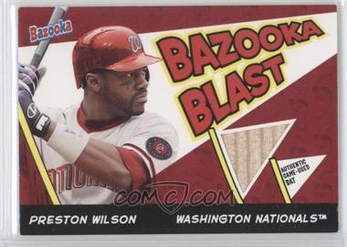 2006 Topps Bazooka Blast Bats #BBL-PW - Preston Wilson