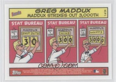 2006 Topps Bazooka Comics #1 - Greg Maddux