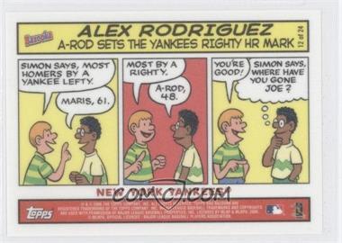 2006 Topps Bazooka Comics #12 - Alex Rodriguez
