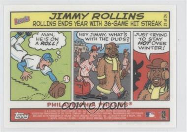 2006 Topps Bazooka Comics #21 - Jimmy Rollins