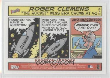 2006 Topps Bazooka Comics #22 - Roger Clemens