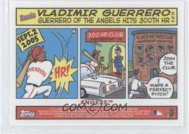 2006 Topps Bazooka Comics #8 - Vladimir Guerrero