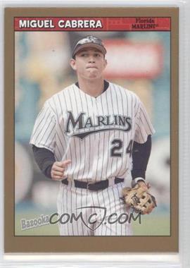 2006 Topps Bazooka Gold Chunks #23 - Miguel Cabrera